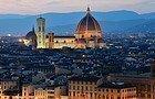 Coucher du soleil à Florence