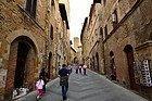 San Gimignano, rues