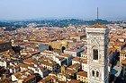 Vue du haut de la coupole du Duomo
