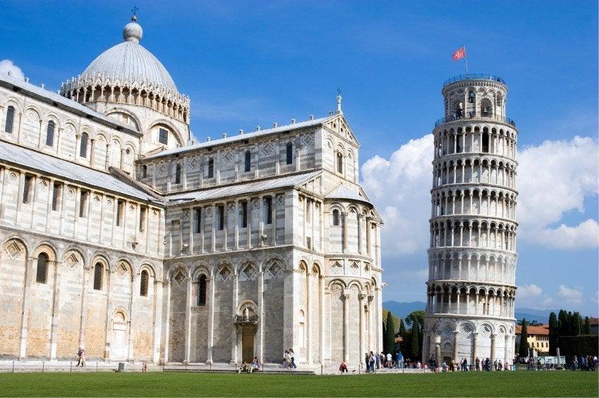 Pisa y su Torre Inclinada