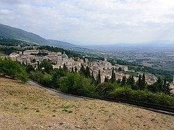Asís desde la Rocca Maggiore
