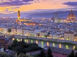 Firenze all'alba