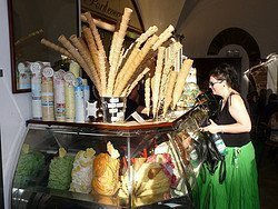 Ice cream parlours in Florence