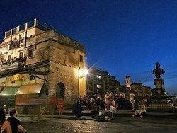 Ponte Vecchio - Músico callejero