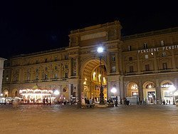 Restaurants in Florence, Piazza della Repubblica