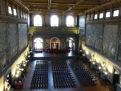 Palazzo Vecchio - Hall of the Five Hundred
