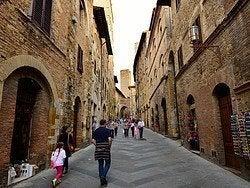 San Gimignano, calles