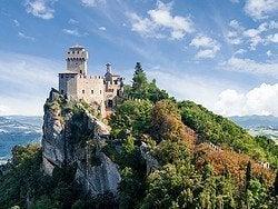 San Marino, Castillo de la Cesta
