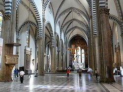 Santa María Novella, interior