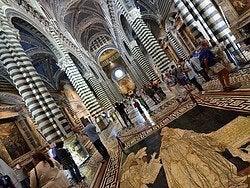 Siena, interior de la catedral