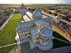 Vistas desde la Torre de Pisa