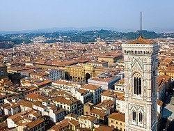 Vistas desde la cupula del Duomo