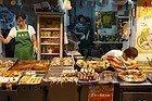 Ladies Market: Puesto de comida