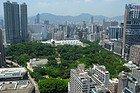 Parque de Kowloon desde las alturas