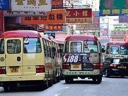 Transporte Hong Kong: Autobuses