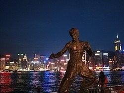 Bruce Lee en Tsim Sha Tsui