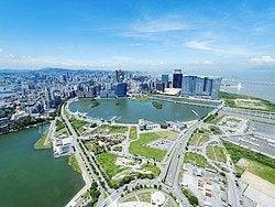 Macao, vistas desde la Torre de Macao