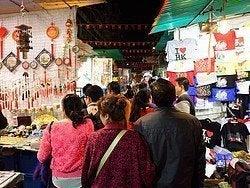 Mercado nocturno de Temple