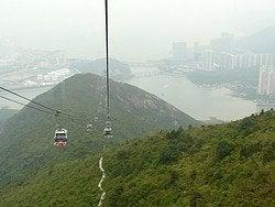 Teleférico Hong Kong: Vistas