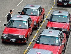 Taxis de Hong Kong