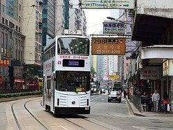 Transporte Hong Kong, Tranvía