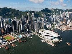 Hong Kong en helicóptero