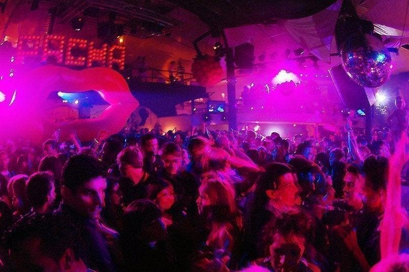 musica discoteca pacha:
