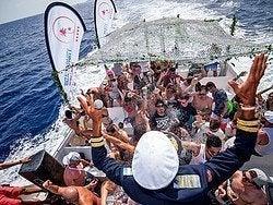 Fiesta en el barco Ibiza Sea Party