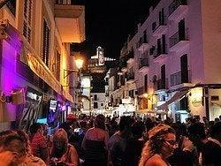 Puerto de Ibiza en pleno agosto