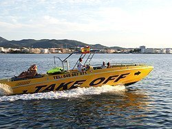 Lancha rápida Ibiza