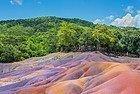 Tierra de los Siete Colores de Chamarel