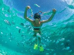 Snorkel en Isla Mauricio