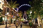 The Linq y la noria High Roller