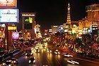 El Strip, la calle más famosa de Las Vegas