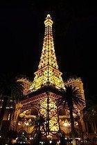Torre Eiffel del Hotel Paris