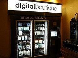 Máquina vending en el MGM Grand