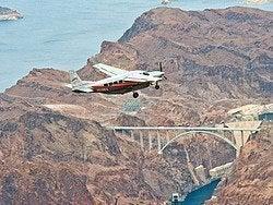 Represa Hoover, voo Represa Hoover