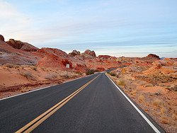 Valley of Fire, carretera a White Domes