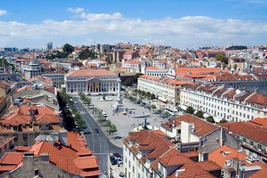 Plaza del Rossio (Plaza Don Pedro IV)