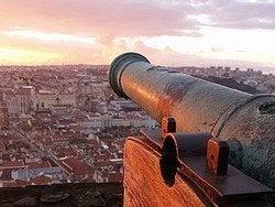 Castillo de San Jorge, vistas