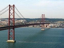 Vistas de Lisboa desde el Cristo Rey