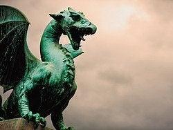 Liubliana y su dragón