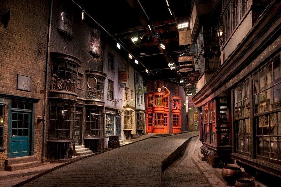 En los estudios de Warner Bros