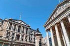 Banco de Inglaterra y Royal Exchange