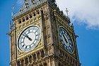 Big Ben, detalhe do relógio