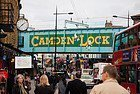 Camden Town et son célèbre pont Camden Lock