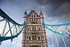 il tempo a Londra, una giornata nuvolosa