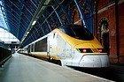 Eurostar llegando a St.Pancras