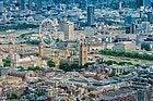 Vistas de Londres desde el helicóptero