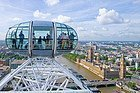 London Eye, vista de Las Casas del Parlamento